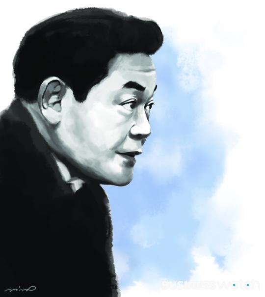 이건희 일러스트 이건희 삼성그룹 회장 김용민 기자