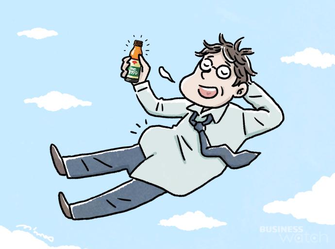 동화약품 부채표 까스활명수