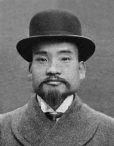동화약방(현 동화약품) 초대 창업주 은포(恩浦) 민강(閔橿) 선생.